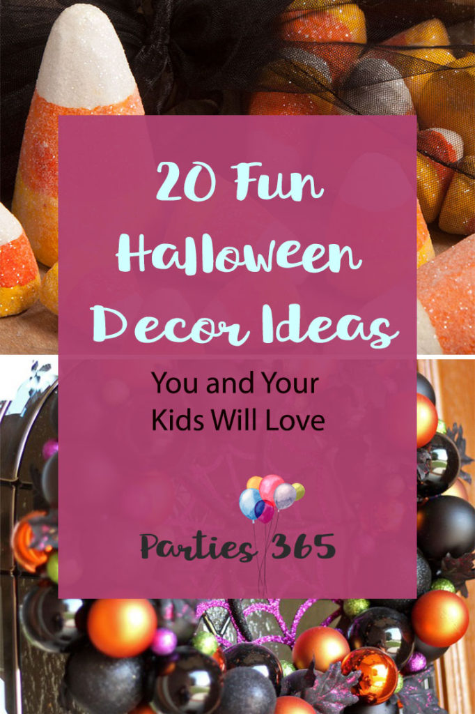 Halloween Decorations Ideas For Party.Fun And Not Scary Halloween Decorations For Your Home