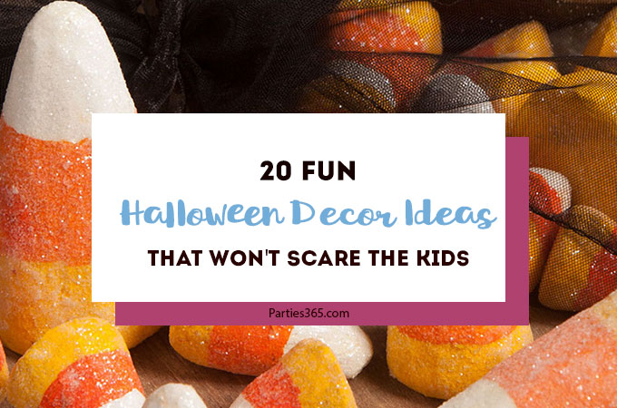 20 Fun Halloween Decor Ideas that won't scare the kids! | Halloween Decorations for Kids | Fun Halloween Decor
