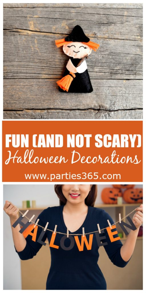 These fun Halloween decorations for your home will help turn your place into a festive space for the holiday. And if your kids (or you) don't like the scary aspect of Halloween, then these are perfect for you!