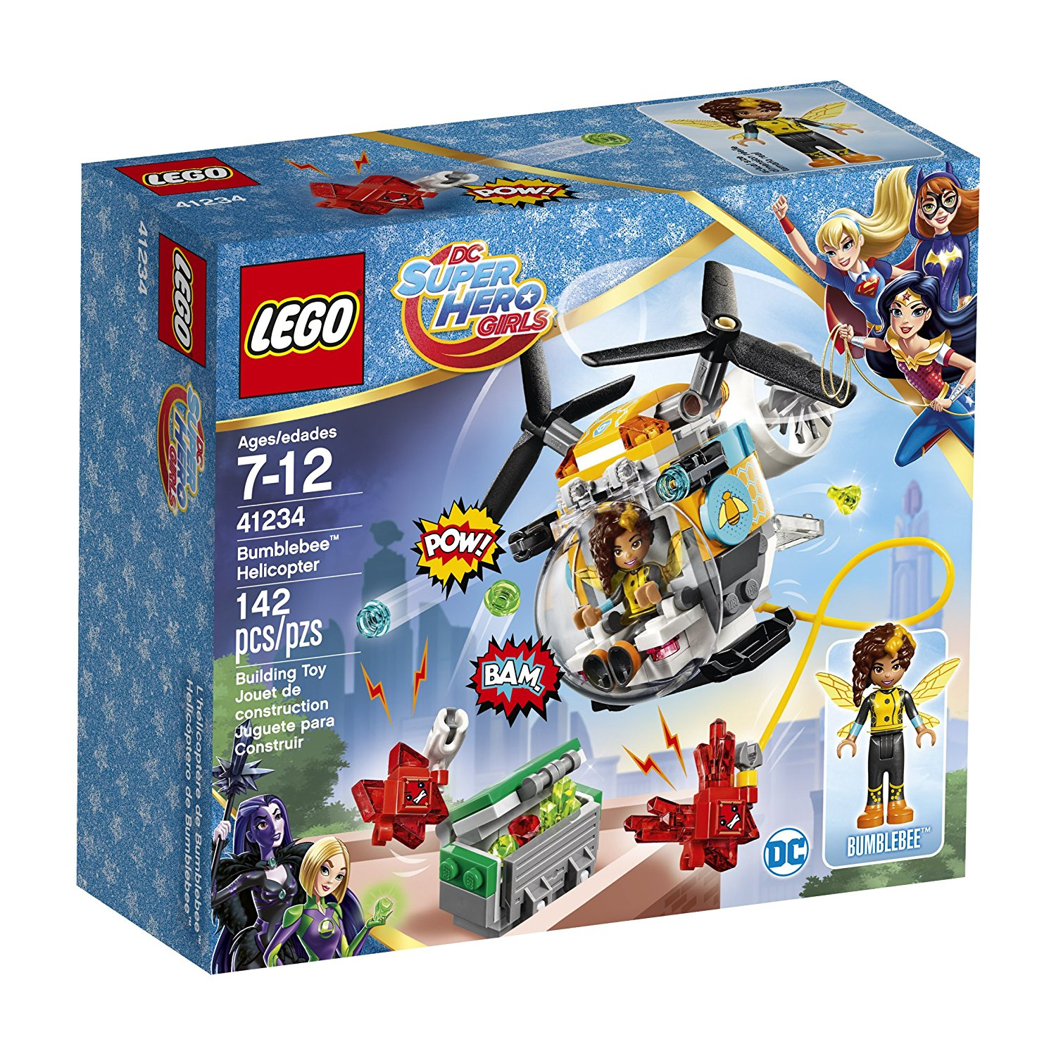 LEGO DC Super Hero Girls Bumblebee Helicopter 41234