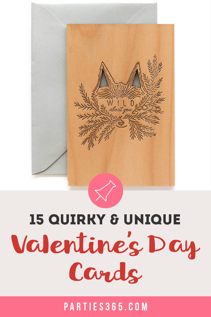 Looking for unique, funny or quirky handmade Valentine's Day cards? You'll love these one-of-a-kind ideas for romantic and punny cards about love! #valentines #valentinesday #valentinesdaycard #valentinescard