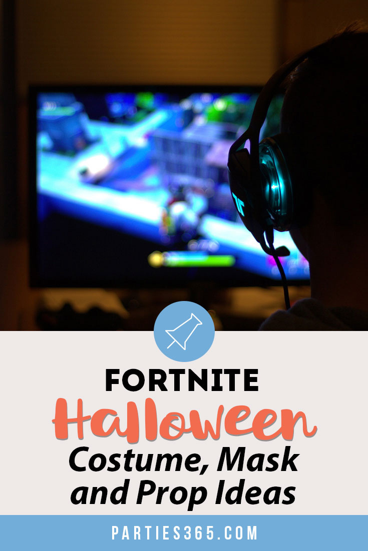 Looking for the best Fortnite Halloween Costumes for adults and kids? We've got you covered with costume, mask and prop ideas for girls, boys, women and men! #fortnite #halloween #costumes