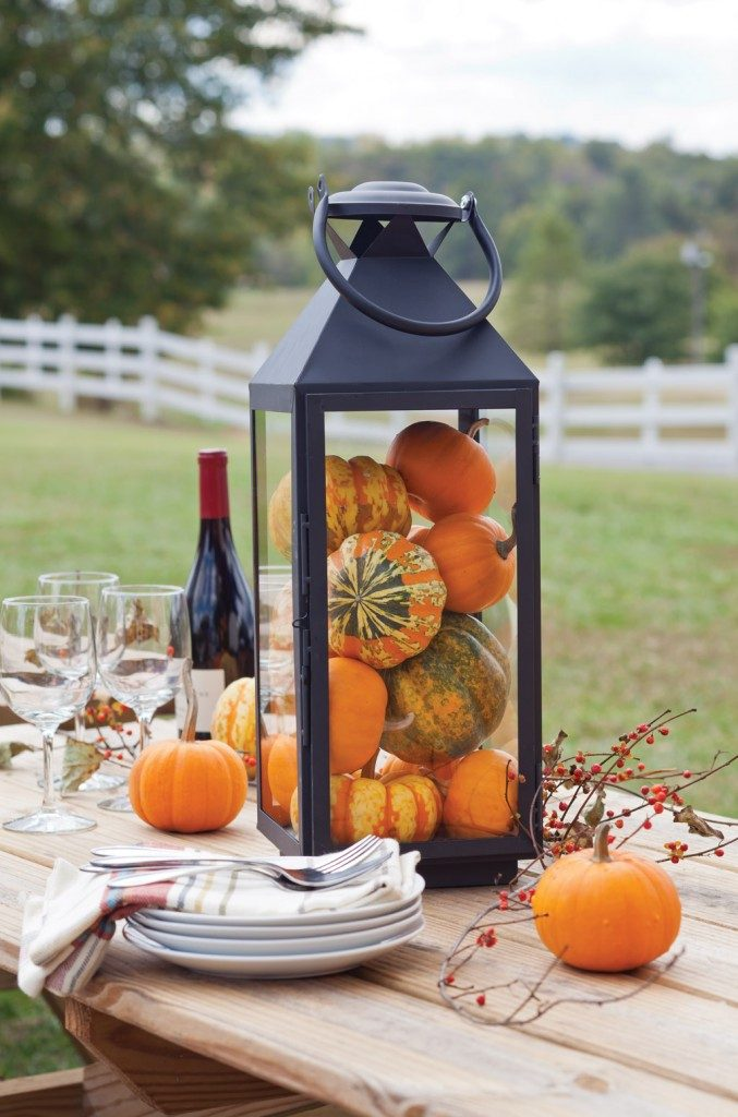 Fall Pumpkin Tablescape Ideas