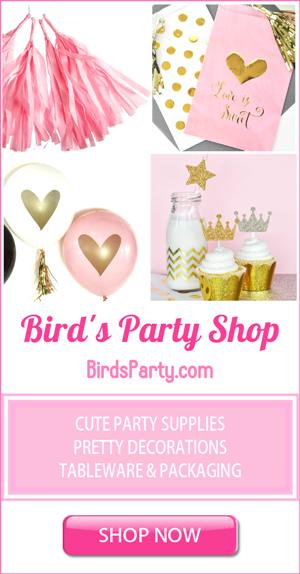 Bird's Party Supplies