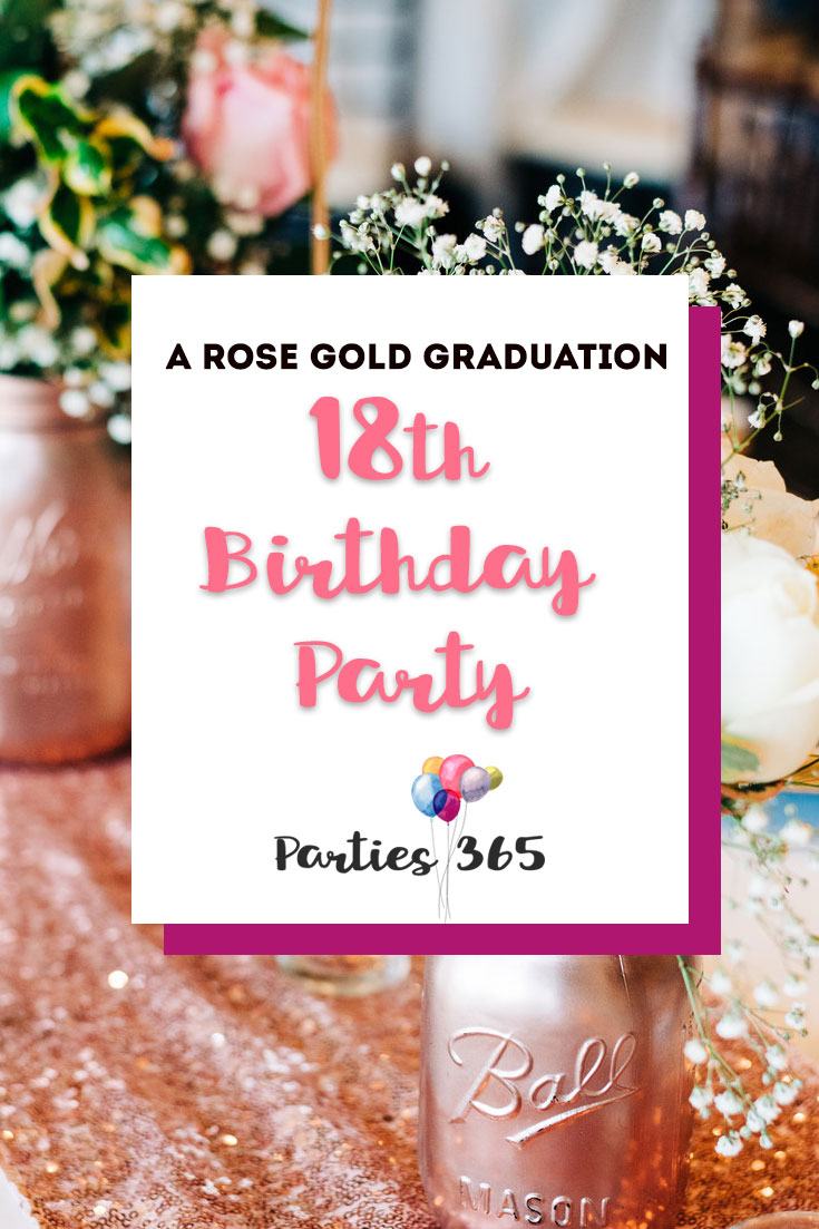 If Youre Looking For 18th Birthday Party Ideas We Have A Stunning Rose