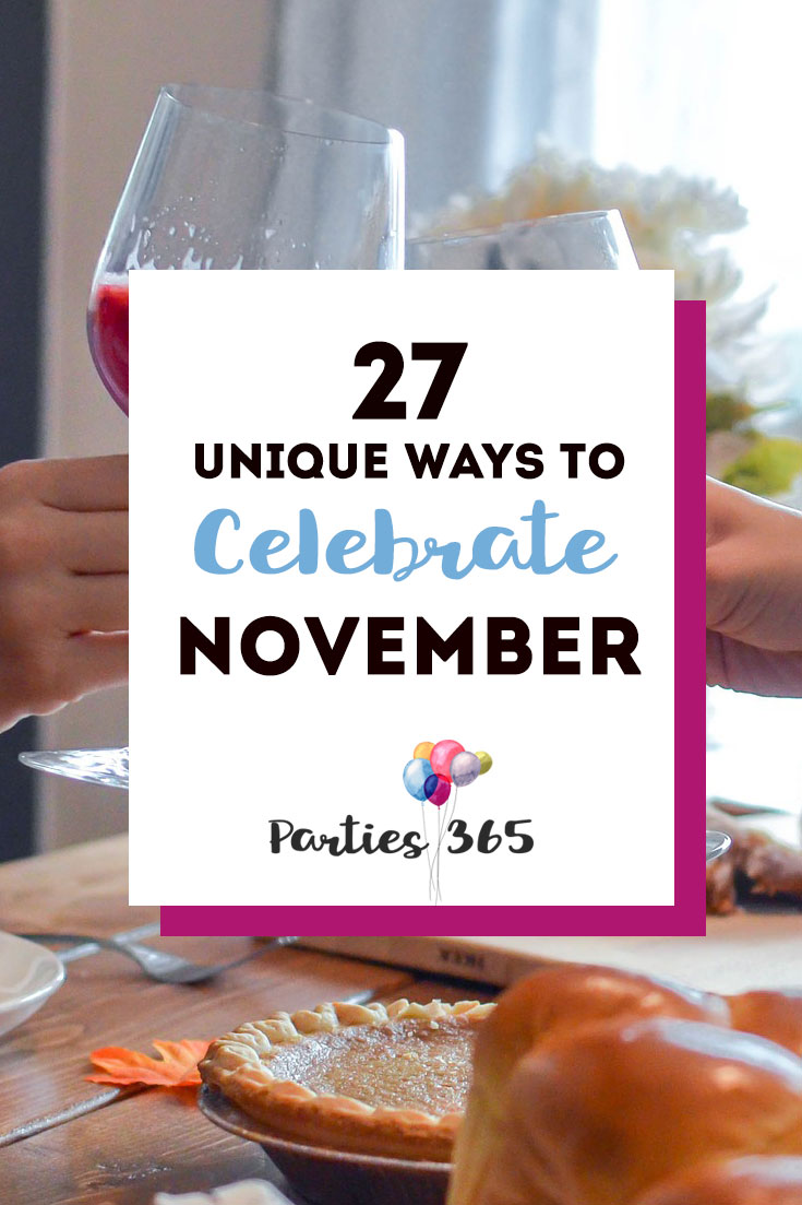 unique holidays to celebrate in November