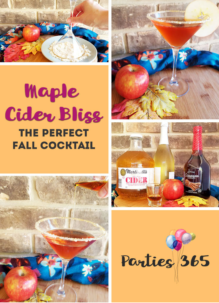 apple cider fall cocktail recipe