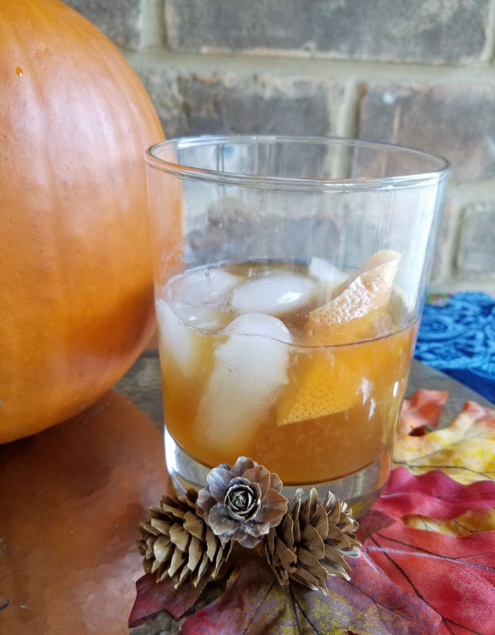 maple old fashioned cocktail recipe for fall