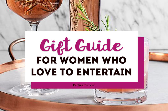 Need gift ideas for a woman who loves to entertain and throw parties? We have the perfect holiday, Christmas, hostess or birthday gift guide for your friends! Check out our 2018 ideas for unique presents she'll love to receive! #Christmasgifts #holidaygifts #hostessgifts #giftguide #giftideas