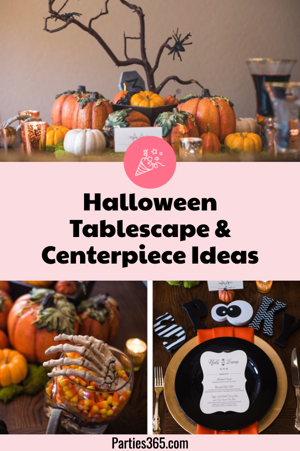 Halloween Tablescape Ideas and Centerpieces