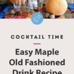 maple old fashioned recipe for fall