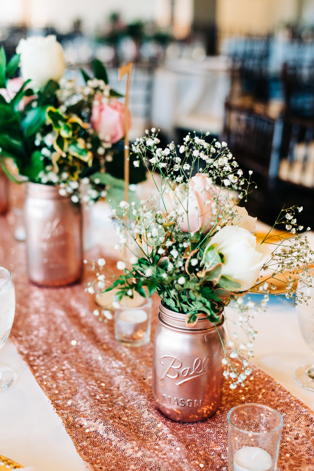 18th Birthday Party Decor Rose Gold Decorations Are Perfect For All Kinds Of Themes Check Out How