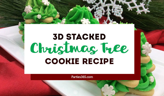 3D Stacked Christmas Tree Cookie Recipe
