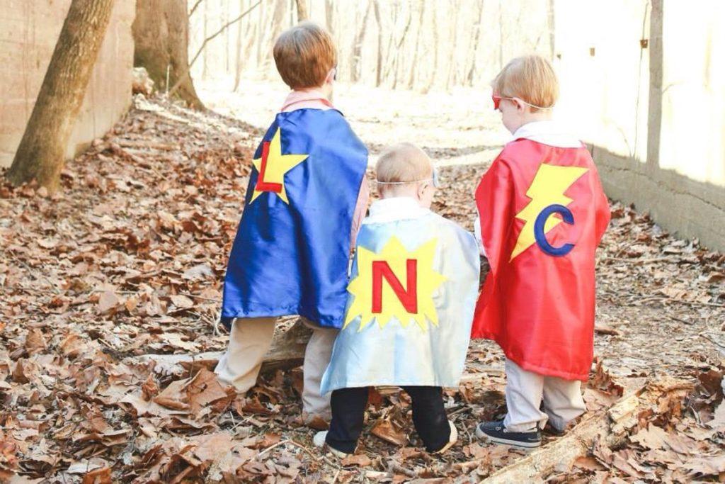 custom super hero capes for kids