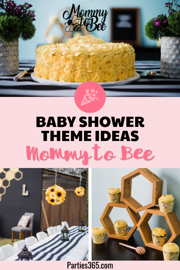 Mommy to Bee Baby Shower Ideas