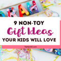 Want the best, fun non toy gift ideas for Christmas, stocking stuffers and birthdays? We have a kids gift guide with non-toy gift ideas they'll actually love! #giftguide #giftideas #holidaygifts #Christmasgifts