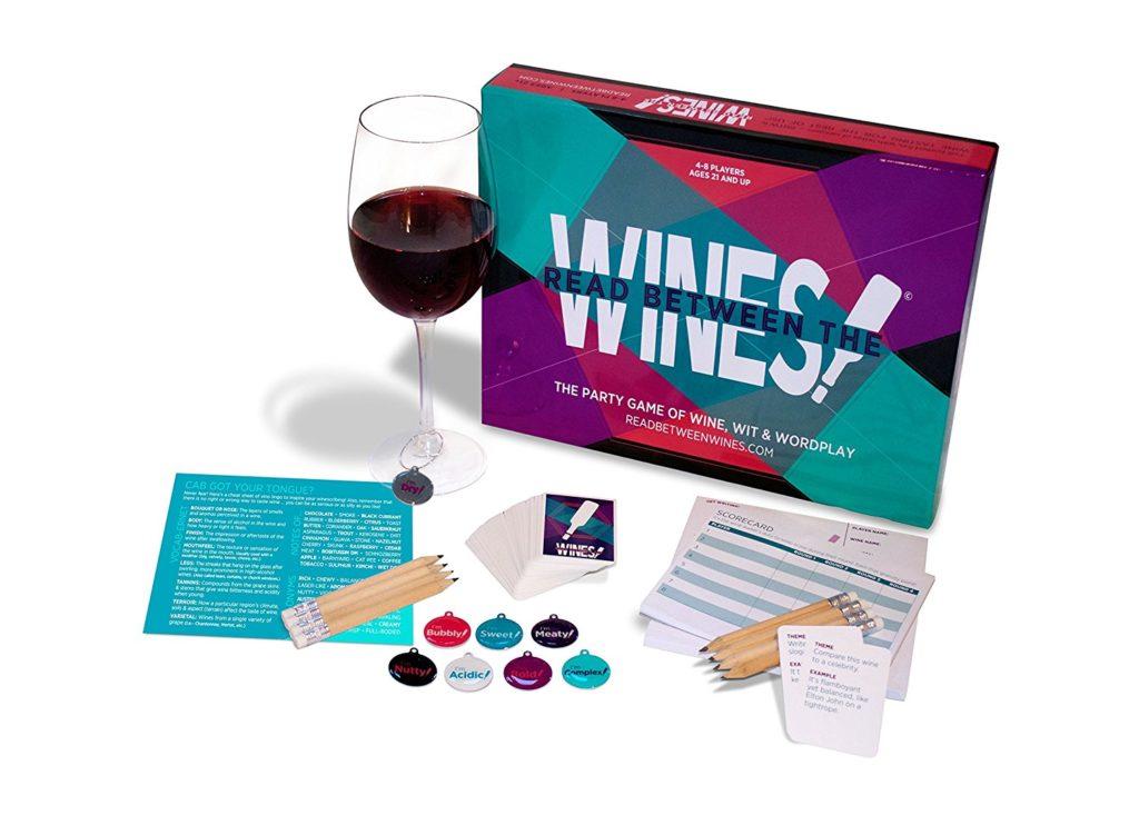 wine game gift idea