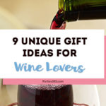 Looking for holiday hostess gift ideas or a Christmas gift guide for women? Here are 9 unique gift ideas for the wine lovers in your life - that are better than a bottle of wine! #winelover #giftguide #giftideas #wine