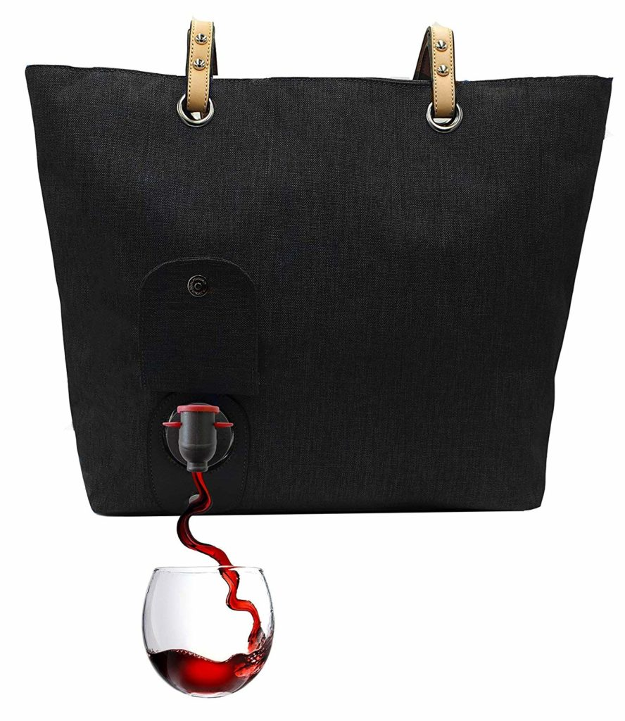 wine bag gift idea for her