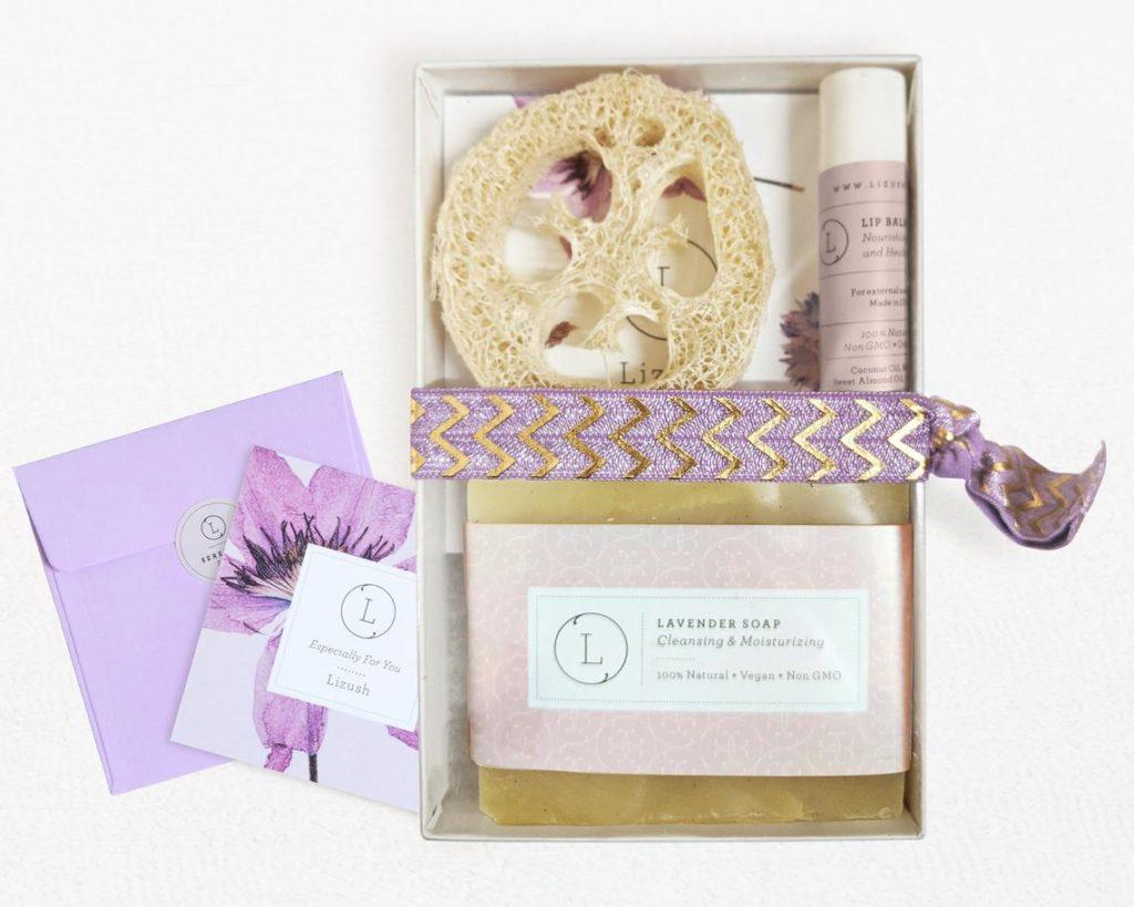 bath soap gift set stocking stuffer for her