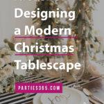 modern christmas tablescape ideas
