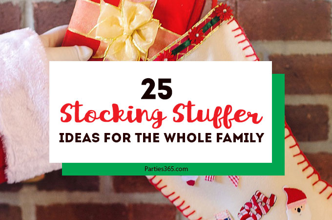 We have 25 of the BEST stocking stuffer ideas for everyone on your Christmas list! Unique stocking stuffer ideas for men, for women, for girls, for boys, for teens... for everyone! We've got the kids, husband and the whole family covered. Click through to see them all! #stockingstuffers #Christmasgifts #giftideas