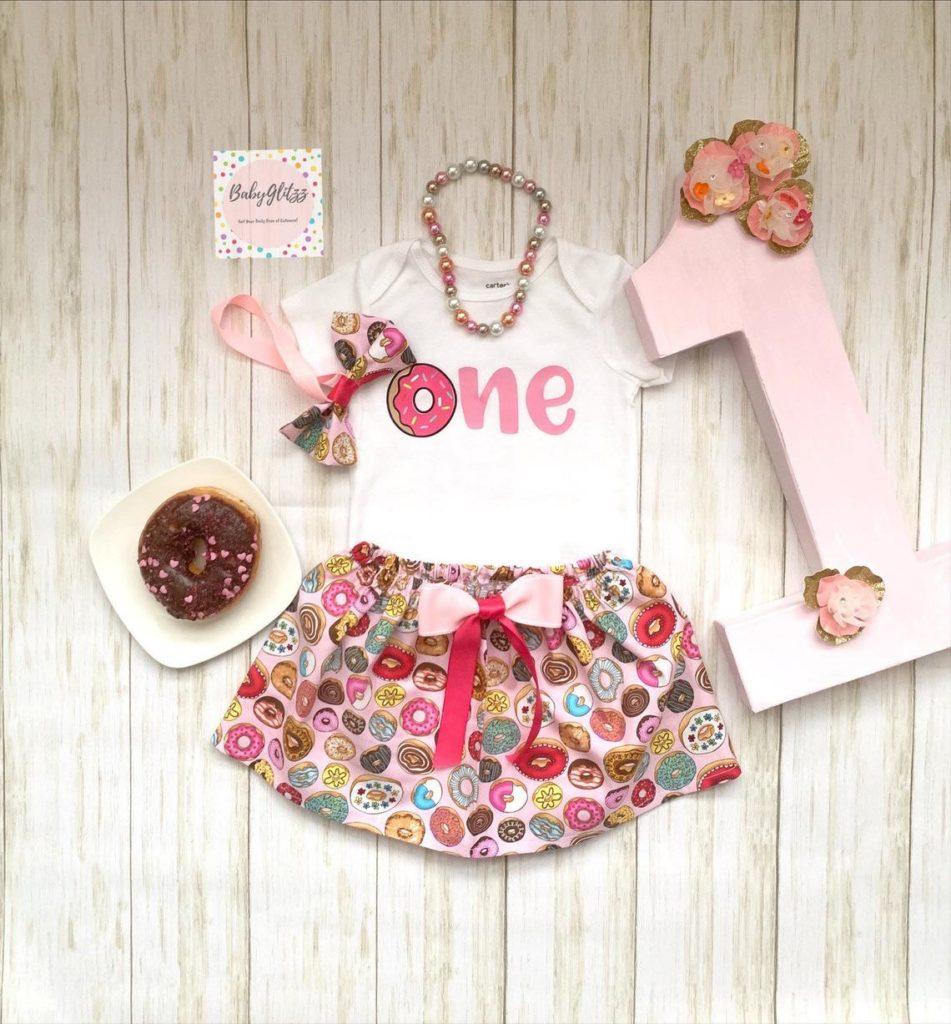 girls donut dress