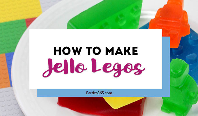 How to Make Jello Legos for Your Next Party