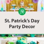 St. Patrick's Day Party Decor Ideas