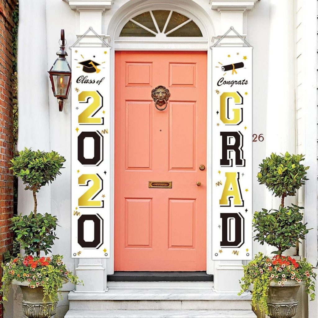 front door graduation banners