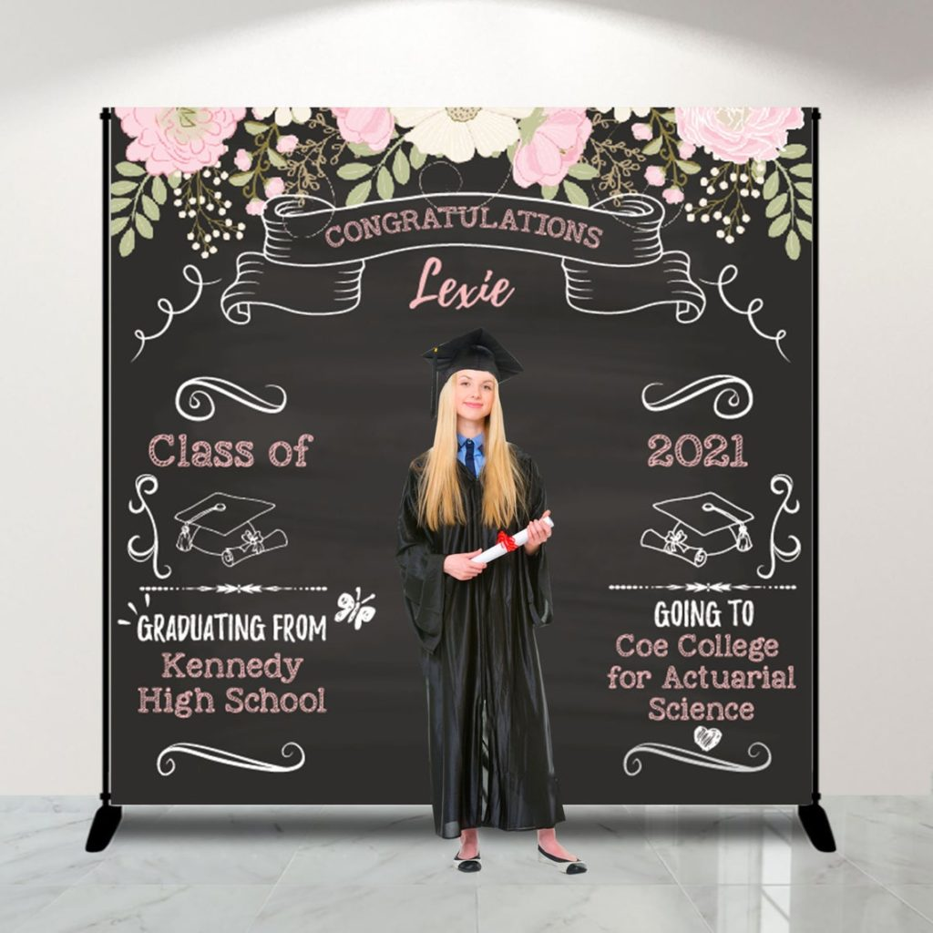 graduation party photo backdrop
