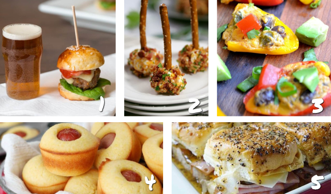 hearty Mini appetizer recipe ideas