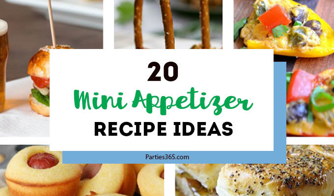 20 Mini Appetizer Recipes with Big Bite