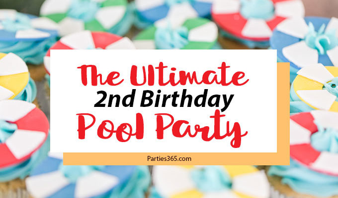 4 Besties Turn Two: The Ultimate Pool Party Birthday Celebration