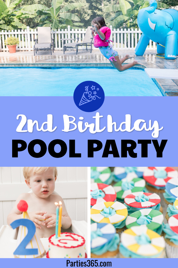 2nd birthday pool party ideas