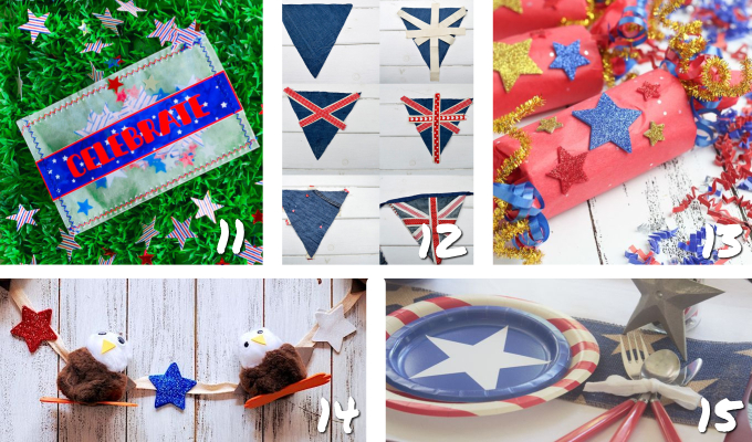 DIY patriotic party decor