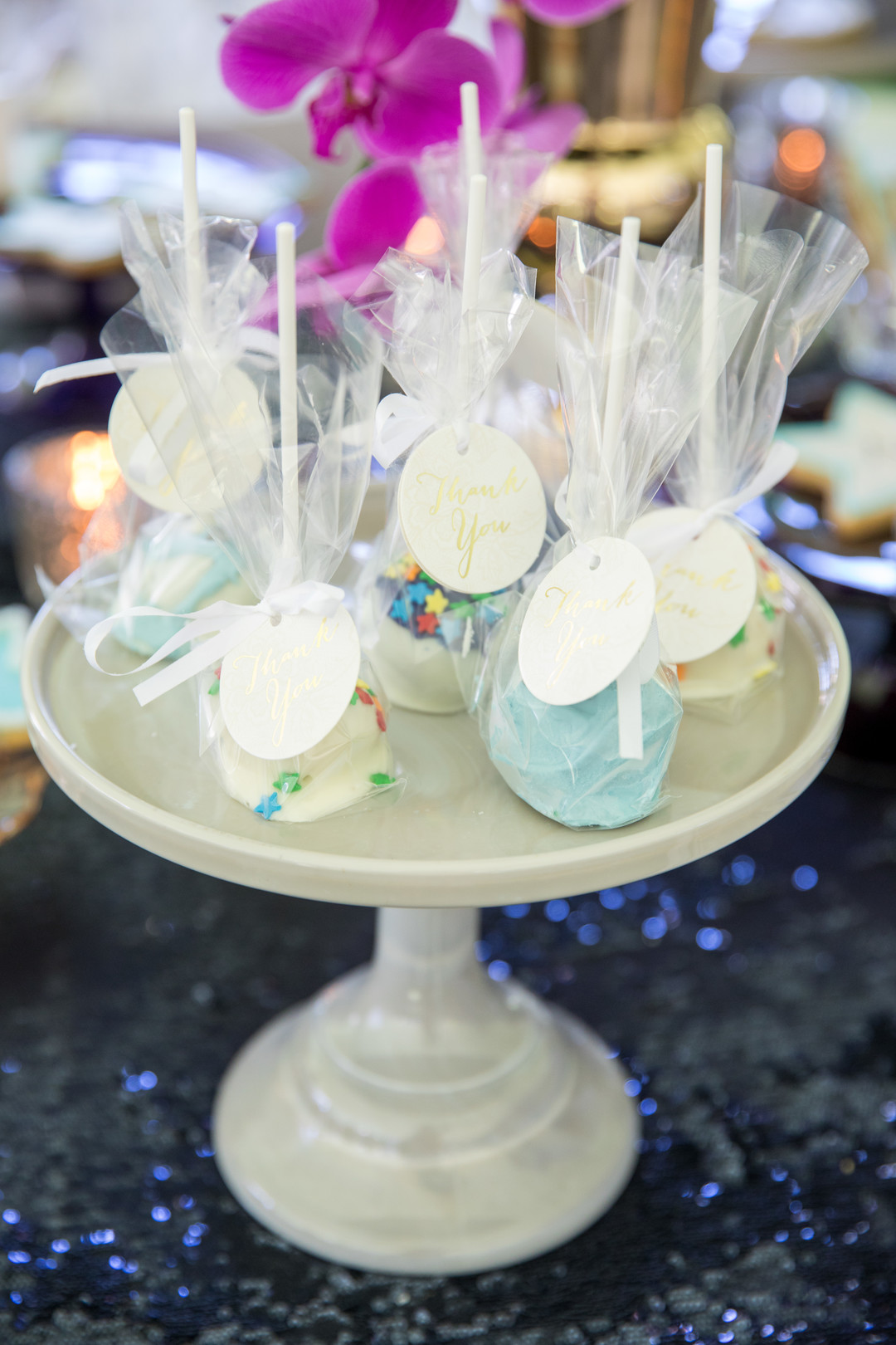 Over the Moon Cake Pop Favors