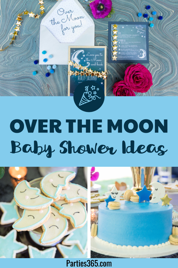 6453722d3 Looking for the perfect baby shower theme? An Over the Moon shower lends  itself to