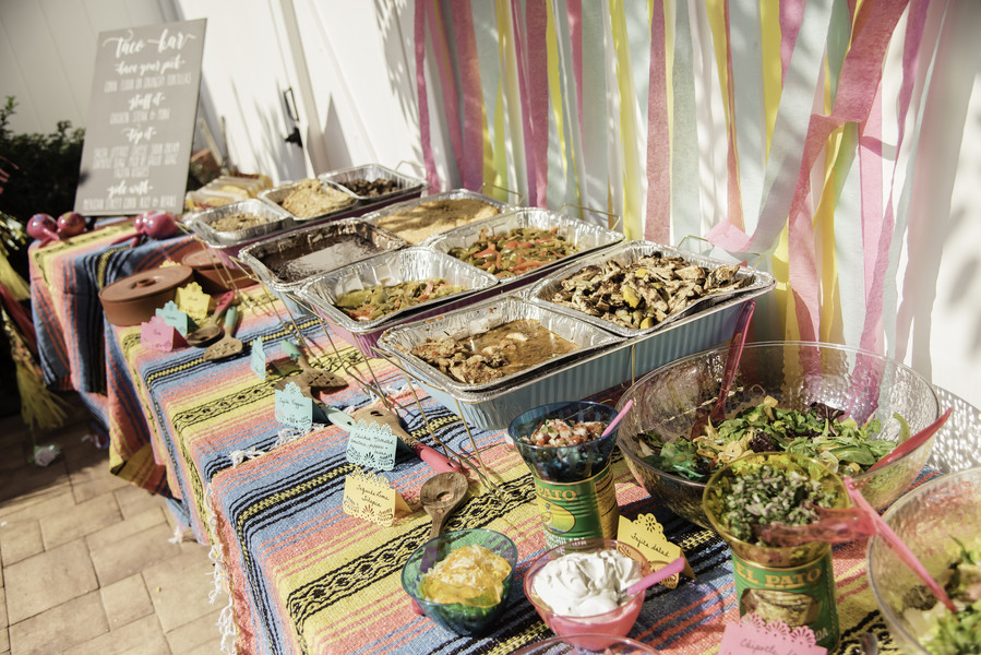 bridal shower fiesta catering