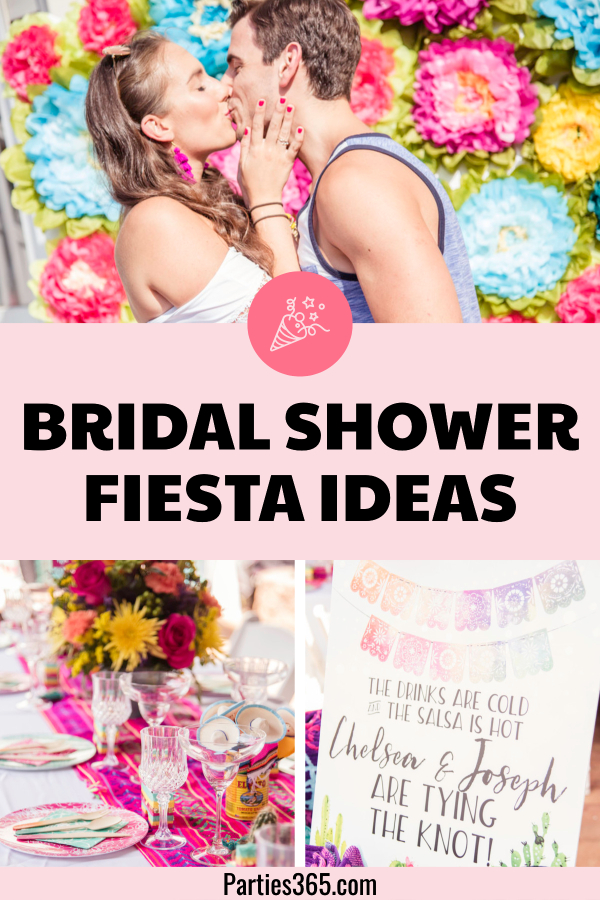 ideas for a bridal shower fiesta pool party