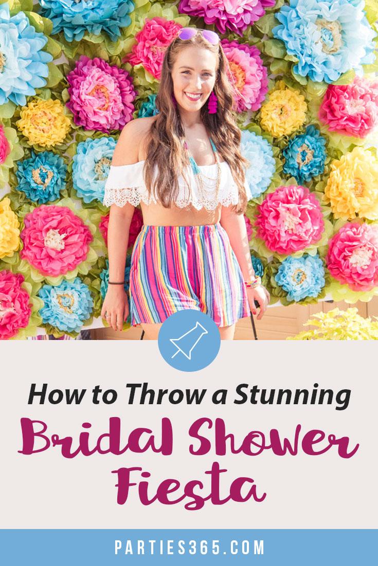 bridal shower fiesta party ideas