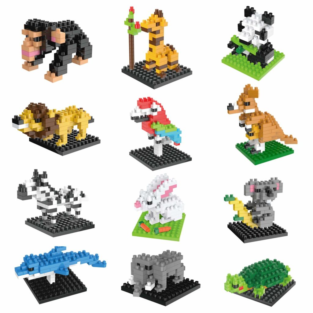 lego animal party favors