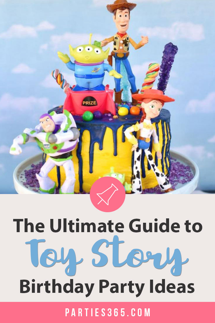 Looking for fun Toy Story Birthday Party Ideas? Here's your ultimate guide to decorations, food, games, favors and more, perfect for this theme that works for a boy or a girl! #ToyStory #toystoryparty #birthdayideas #partysupplies