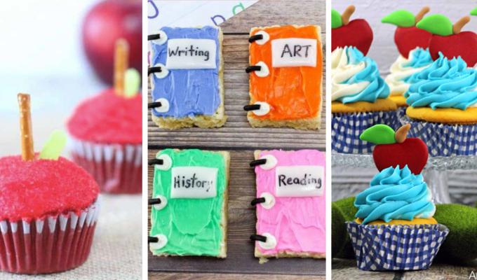 back to school sweet treat celebration ideas