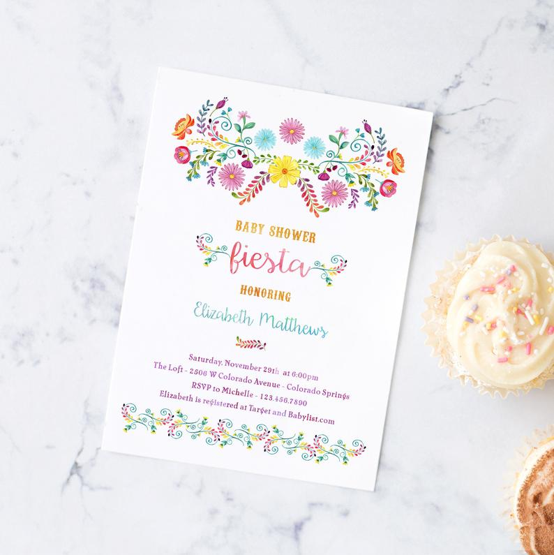 Ready to throw a festive Baby Shower Fiesta to welcome your little boy or girl? You'll love the decorations, food, centerpieces and favor ideas for a Mexican themed party featured at this shower! #babyshower #fiesta #mexicanparty #partytheme