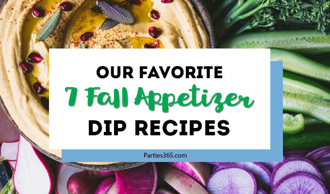 Our Favorite 7 Fall Appetizer Dip Recipes