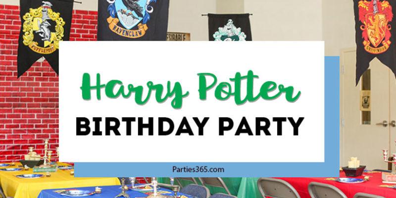 Terrific Tween Harry Potter Birthday Party
