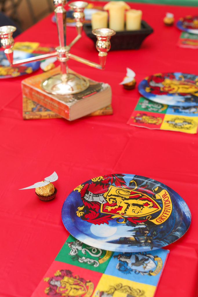 These fantastically fun ideas for a Harry Potter 12th Birthday party will thrill your guest of honor! From decorations to cake and invitations to favors, these DIY ideas will inspire little wizards everywhere! #harrypotter #birthday #tweenbirthday #partyideas #partydecor