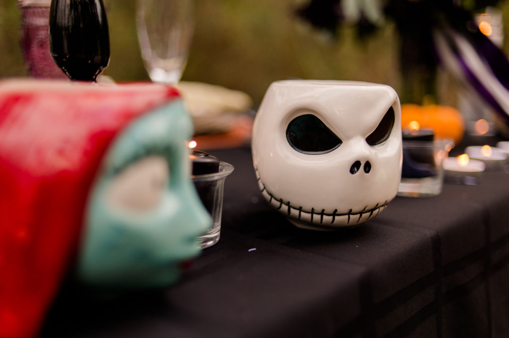 jack from nightmare before christmas coffee mug