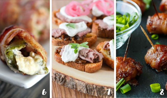 These Meaty Fall Appetizers are the perfect party foods and snacks for a crowd! Find the best autumn appetizer recipes for entertaining, right here! #appetizers #partyfood #fallrecipes #entertaining